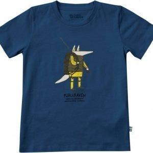 Fjällräven Kids Trekking Fox T-Shirt Sininen 146