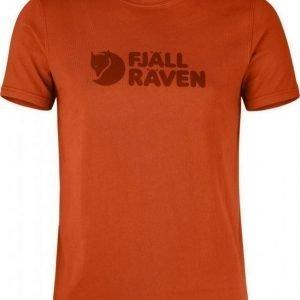 Fjällräven Logo T-shirt oranssi L