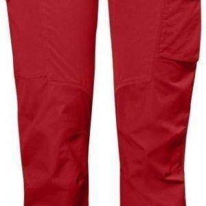 Fjällräven Nikka Trousers Curved Tummanpunainen 42
