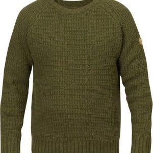 Fjällräven Sörmland Roundneck Sweater Dark Olive XXL