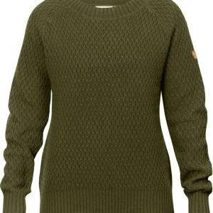 Fjällräven Sörmland Roundneck Sweater W Dark Olive XS