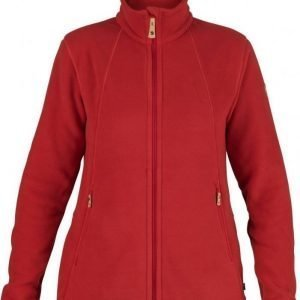 Fjällräven Stina Fleece Punainen XL