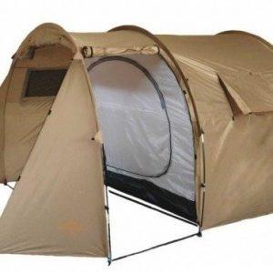 Fjord Nansen Malta 4 hengen teltta ruskea