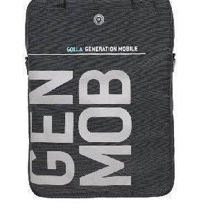 """GOLLA Laptop Bag Lite STRAW 14"""" kannettavan laukku tumman harmaa"""