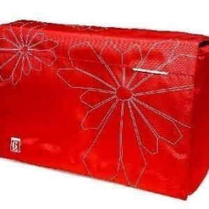 """GOLLA Laptop Bag PIXIE Easy 16"""" kannettavan laukku punainen"""