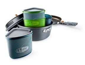 GSI Alu-Cookset Pinnacle Backpacker kattilasarja