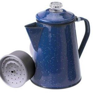 GSI emalinen perkolaattori kahvipannu sininen