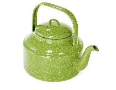 GSI emalinen teepannu vihreä