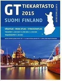 GT Tiekartasto Suomi 2015