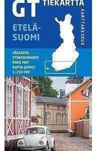 GT tiekartta Etelä-Suomi 2014 1:250 000
