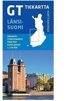 GT tiekartta Länsi-Suomi 2014 1:250 000