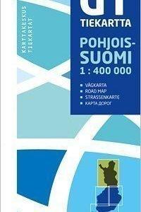 GT tiekartta Pohjois-Suomi 2011 1:400 000