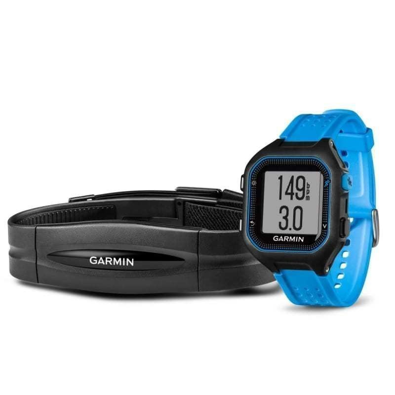 Garmin Forerunner 25 HR ONE SIZE Black/Blue