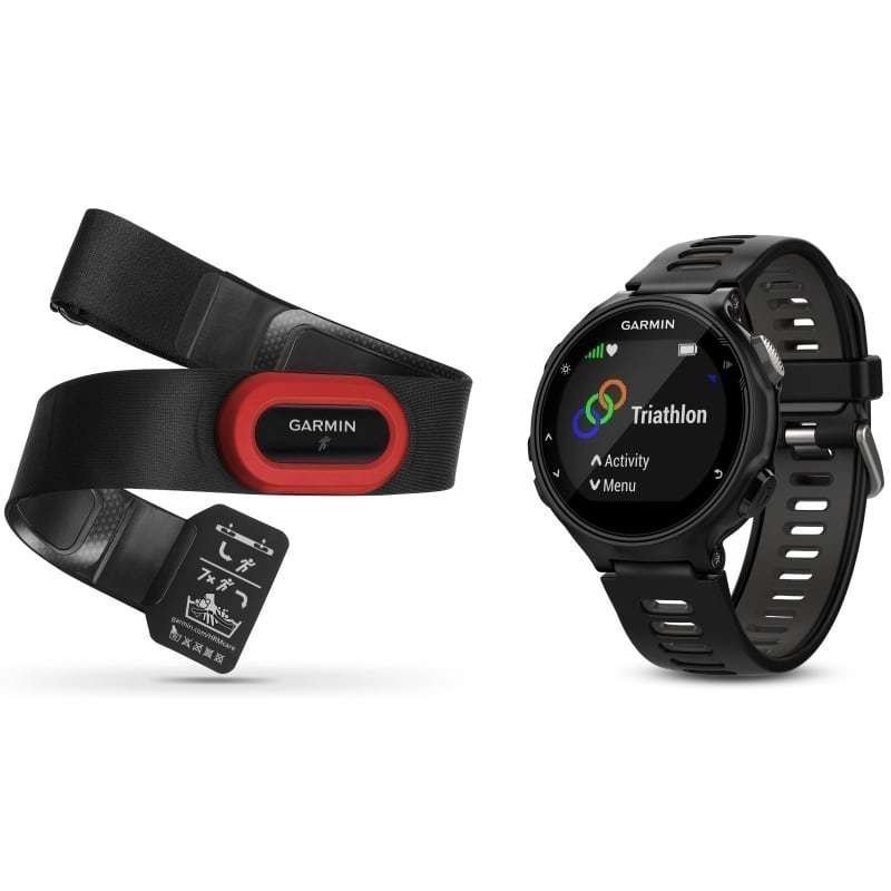Garmin Forerunner 735XT Run Bundle 1SIZE Black/Grey