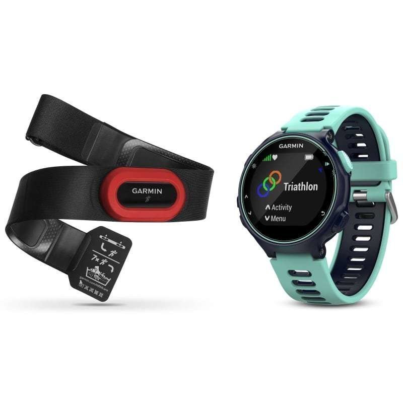 Garmin Forerunner 735XT Run Bundle 1SIZE Midnight Blue/Frost Blue