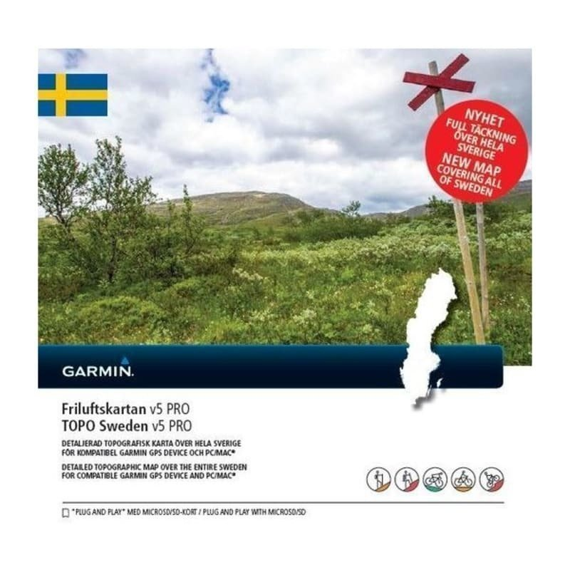 Garmin Friluftskartan PRO V5 1SIZE One Color