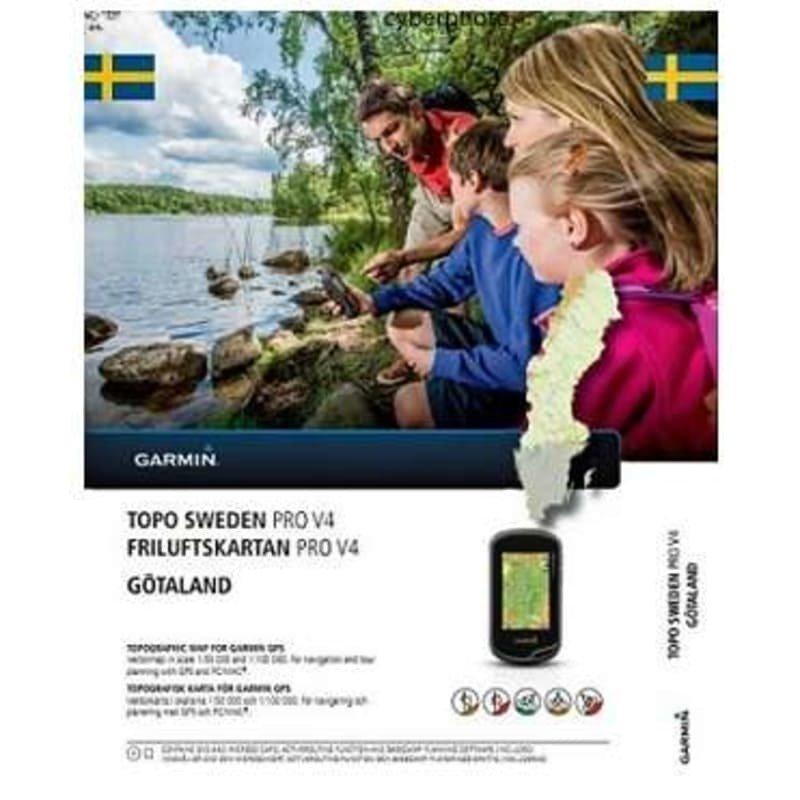 Garmin Friluftskartan PRO v4 - Götaland