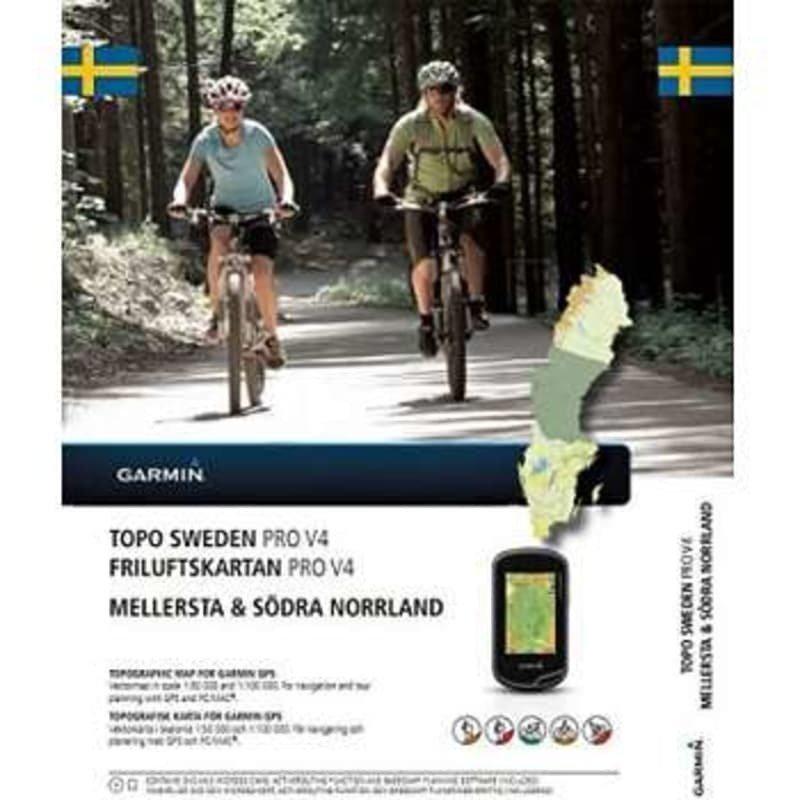 Garmin Friluftskartan PRO v4 - M & S Norrland