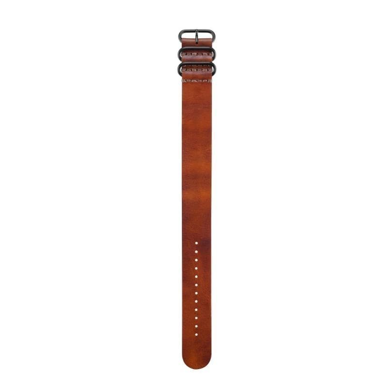 Garmin NATO Replacement Band (Leather 1SIZE Brown