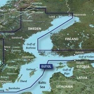 Garmin Ruotsin itärannikko ja Suomenlahti