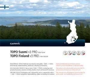 Garmin Topo Suomi Pro V3 kartta Pohjoinen
