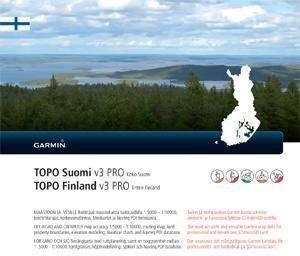 Garmin Topo Suomi Pro V3 kartta koko Suomi