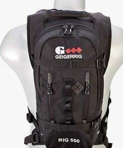 Geigerrig Rig 500 Ballistic juomareppu musta