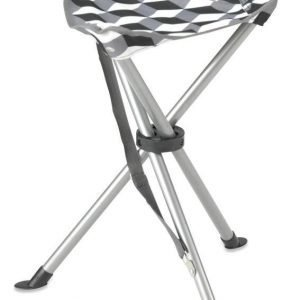 Gelert Tripod stool steel jakkara illusion