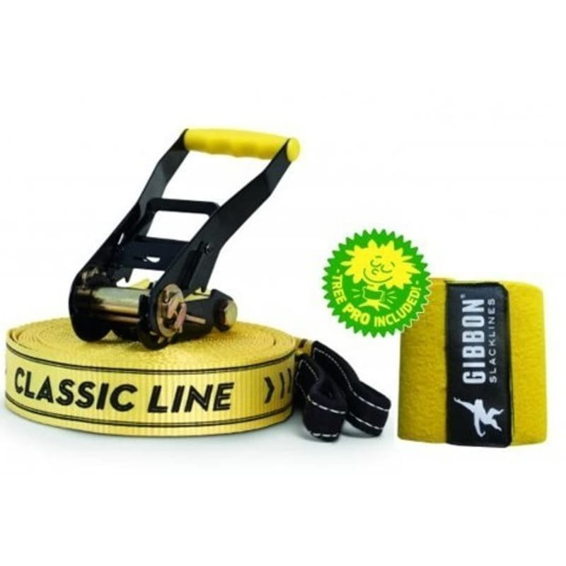 Gibbon Slacklines Classic Line X13 Tree Pro Set One Size