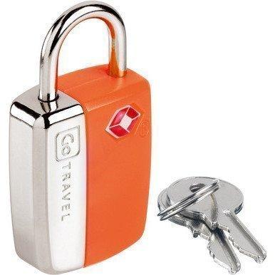 Go Travel Glo Travel Sentry TSA hyväksytty avainlukko oranssi