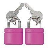Go Travel Glo locks avainlukko (tuplapakkaus) useita värejä
