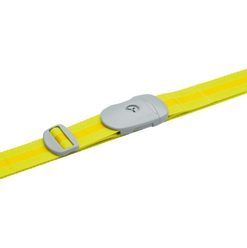Go Travel Key Strap keltainen