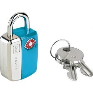 Go Travel Mini Glo Travel Sentry TSA hyväksytty avainlukko sininen tuplapakkaus