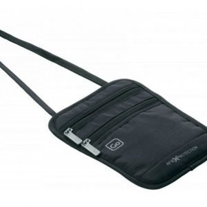 Go Travel Passport Pouch passinsuoja RFID musta