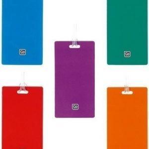 Go Travel tag me matkalaukun tunnistelaatta (useita värejä)