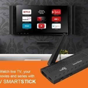GoAllTV SMARTSTICK viihdetikku matkakäyttöön