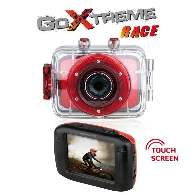 GoXtreme Race Action Camera Red
