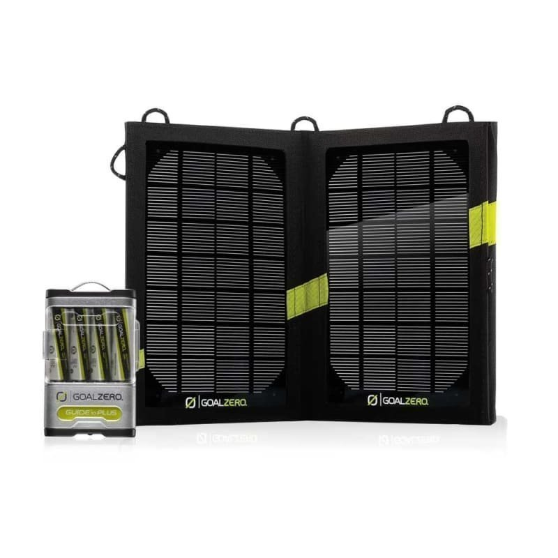 GoalZero Guide 10 Plus Solar Recharging