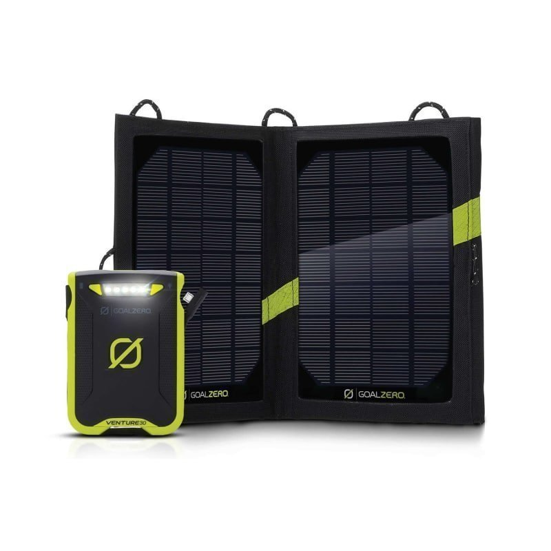 GoalZero Venture30 Solar Recharging Kit 1SIZE Black