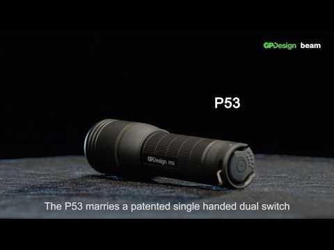 Gp Design P36 Polaris Käsivalaisin 300 Lm