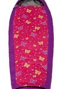 Grüezi-Bag lasten makuupussi perhonen