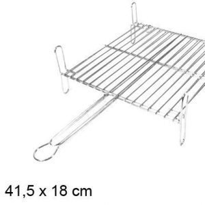 Grid double 63x37x18cm rectangular grill matkagrilli
