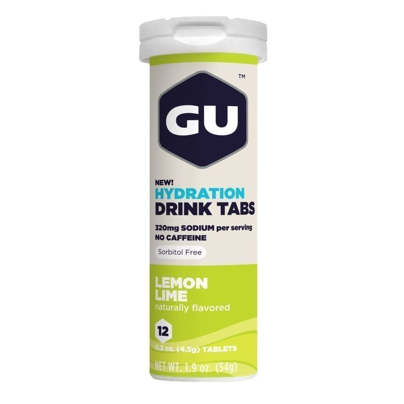 Gu Energy Hydration Tabs 1SIZE Lemon Lime
