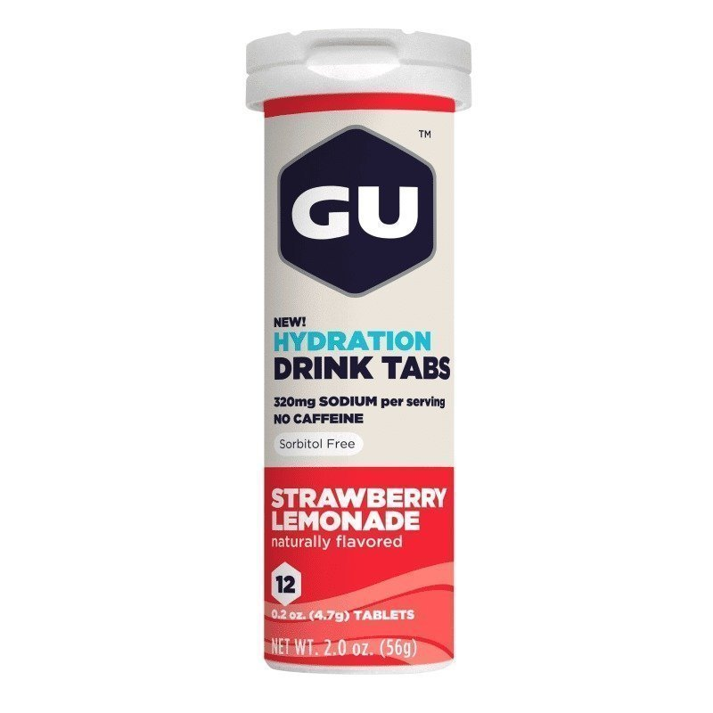Gu Energy Hydration Tabs 1SIZE Strawberry Lemonade