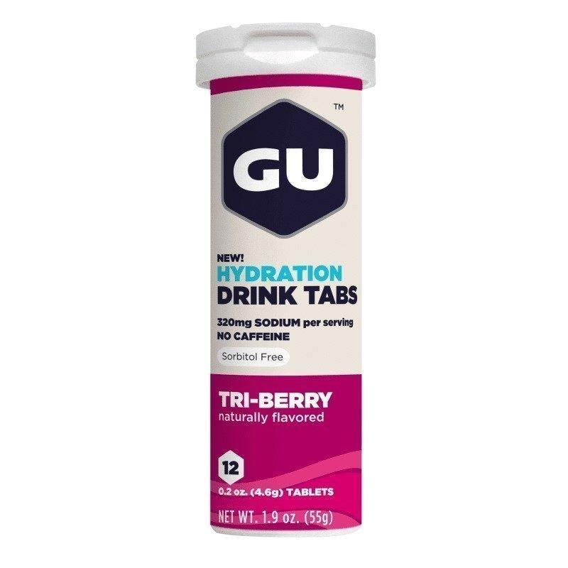 Gu Energy Hydration Tabs 1SIZE Tri-Berry