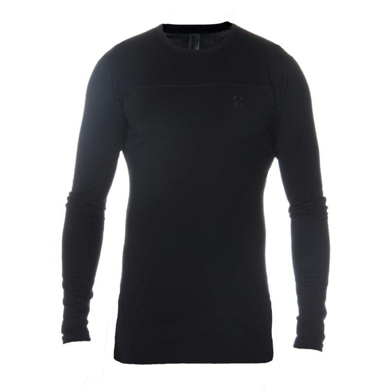 Haglöfs Actives Merino II Roundneck Me XL True Black