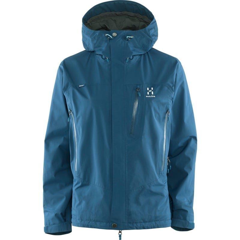 Haglöfs Astral III Jacket Women M Blue Ink