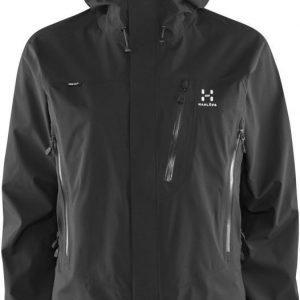 Haglöfs Astral III Jacket Women Musta XL