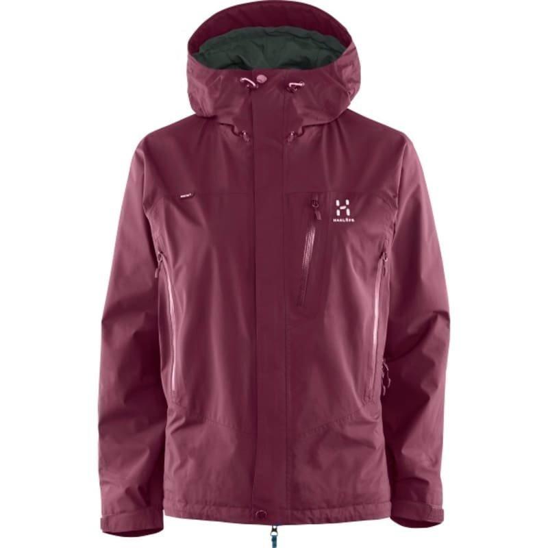 Haglöfs Astral III Jacket Women XL Aubergine