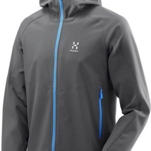 Haglöfs Gecko Lite Hood Men Dark grey L
